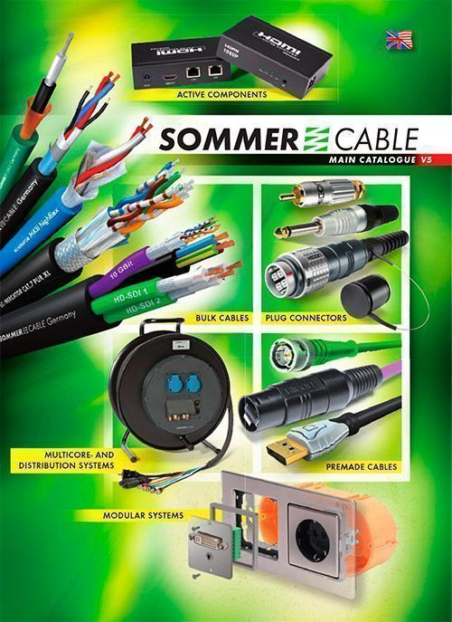 Sommer cable catalogo foto
