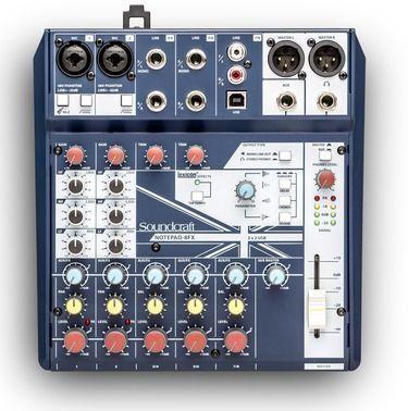 Soundcraft NP 8FX actualizacion firmware 1.09