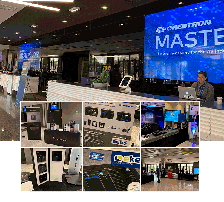 Crestron Masters 2019 Madrid Collage